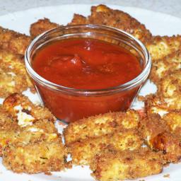 Panko Fried Mozzarella Sticks