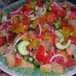 Panzanella from barefoot contessa
