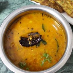 Pappu Charu Recipe Andhra Style or Dal Rasam