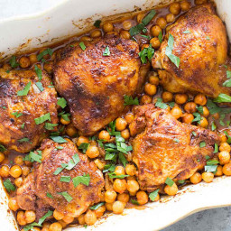 Paprika Chicken with Chickpeas