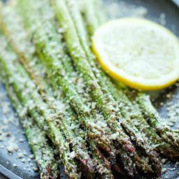 Parmesan Asparagus for the Air Fryer