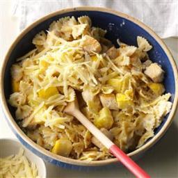 Parmesan Bow Tie Pasta with Chicken Recipe