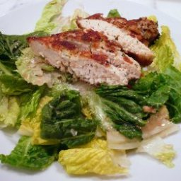 Parmesan Chicken Caesar Salad