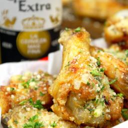Parmesan Chicken Wings Recipe