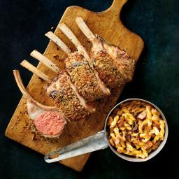 Parmesan-Crusted Rack of Lamb