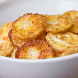 Parmesan Egg Chips