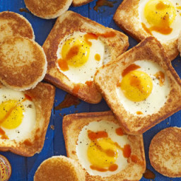 Parmesan Egg-in-a-Hole