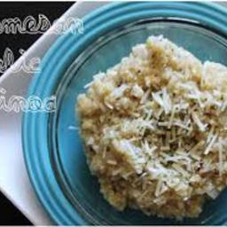 Parmesan Garlic Quinoa