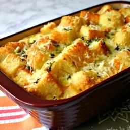 Parmesan-Herb Cornbread Pudding