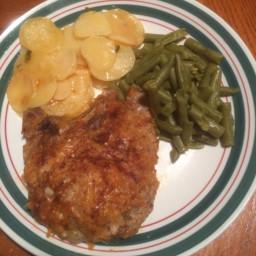 Parmesan-Paprika Pork Chops