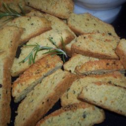 Parmesan, Pepper and Rosemary Panetini