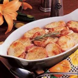 Parmesan Potato Rounds Bake Recipe