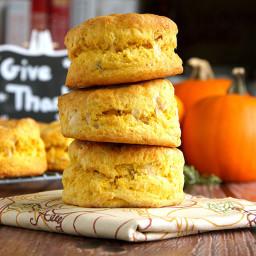 Parmesan Rosemary Pumpkin Biscuits