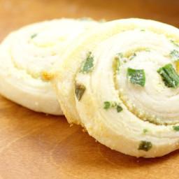Parmesan Scallion Pinwheels