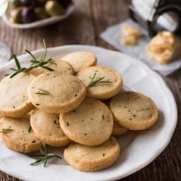 Parmesan Shortbread Biscuits