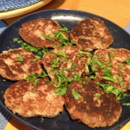 Parmesan Tuna Patties