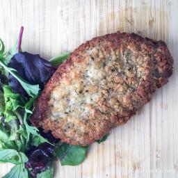 Parmesan Crusted Pork Chop
