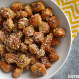 Parmesan Garlic Pretzel Bites