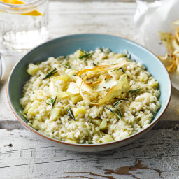 Parsnip, Rosemary & Balsamic Risotto