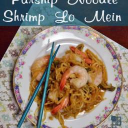 Parsnip Shrimp Lo Mein