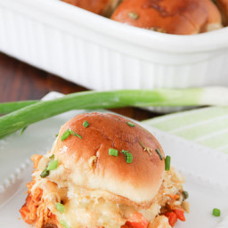 Party Buffalo Chicken Sliders