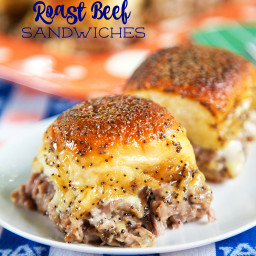 Party Roast Beef Sandwiches