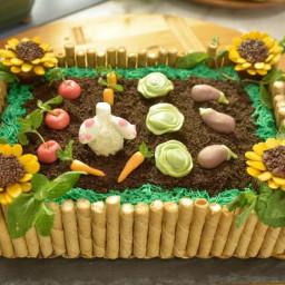 Pass The Garden Cake
