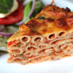 Pasta bolognaise pie recipe