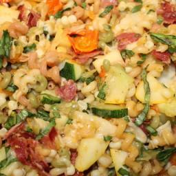 Pasta- Cavatappi W Bacon & Veggies