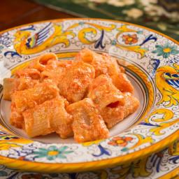 Pasta con la ricotta (Pasta with Ricotta Cheese)
