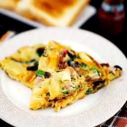 Pasta Omelet
