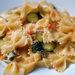 Pasta Primavera with Italian Turkey Sausage