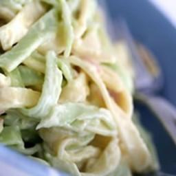 Pasta with Basil Cream Sauce Recipe
