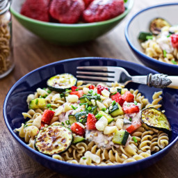 Pasta with Macadamia Nuts