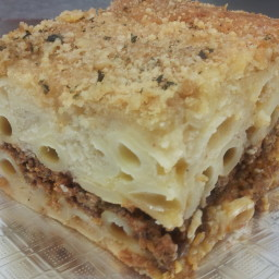 Pastichio (Greek Lasagna)