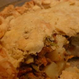 Pasty Meat Pie