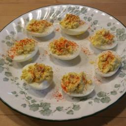 Pat's Deviled Eggs