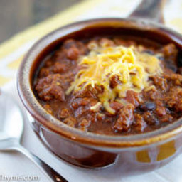 Paul Prudhomme's  Western Chili