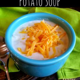 Paula Deen's Crock Pot Potato Soup Recipe