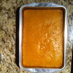 Paula Deen's Pumpkin Gooey Butter Cakes