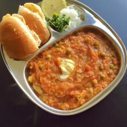 pav bhaji | mumbai pav bhaji recipe