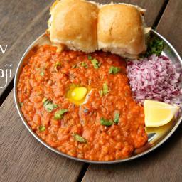 pav bhaji recipe | easy mumbai style pav bhaji recipe