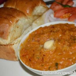 Pav Bhaji Recipe in Hindi - पाव भाजी बनाने की विधि