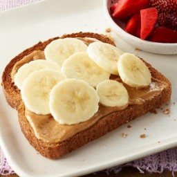 PB and Fruit Toast - (5 Smart Points)
