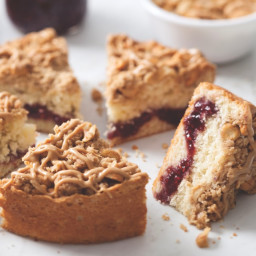 PB and J Coffee Cake