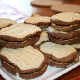 Kid's Pb and J Sandwich Cookies