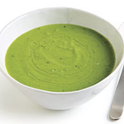 Pea and Parmigiano Soup