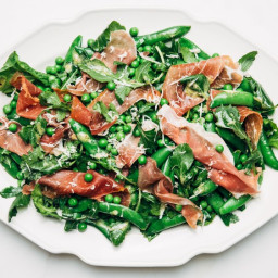 Pea and Prosciutto Salad