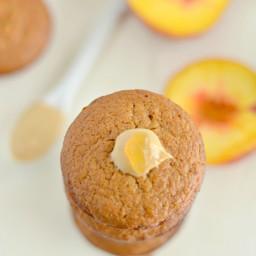 Peach Cashew Muffins