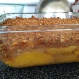 Jon's Peach Crisp